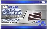 Tru-Flate 15-280 Steel Belted Radial Tire Repair Insert/Plug - 4'' Long,60 Pack