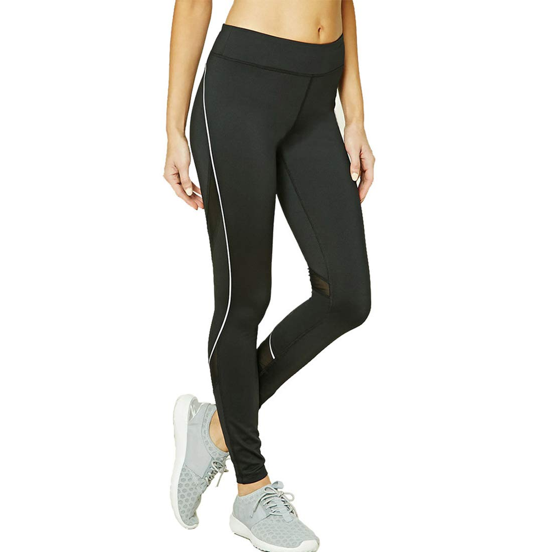 KEVIN POOLE Yoga Pants Casual Tight Fitness Pants Female Leggins for Womens (Size   XL)