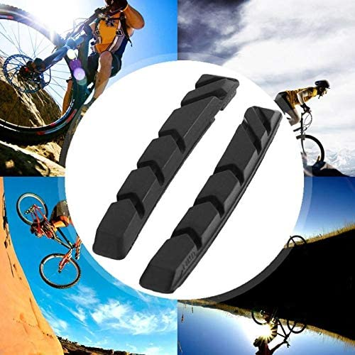 New Outdoor Durable Cycling Shoes Blocks Bike Break Pads Bicycle Holder