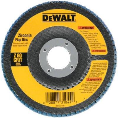 Dewalt DW8306 36 Grit Metal Working Abrasives Zirconia Flap Discs