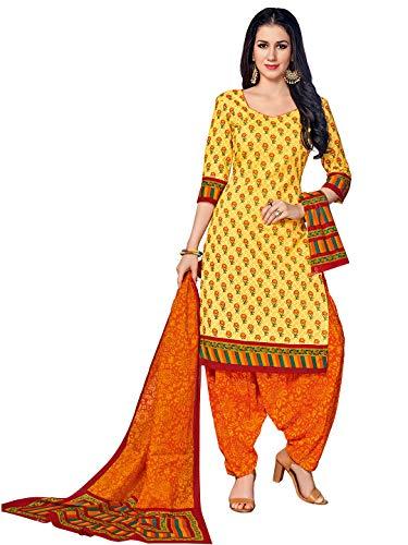 FashionRiti Women's Pure Cotton Readymade Salwar Suit