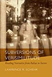 img - for Subversions of Verisimilitude: Reading Narrative from Balzac to Sartre book / textbook / text book
