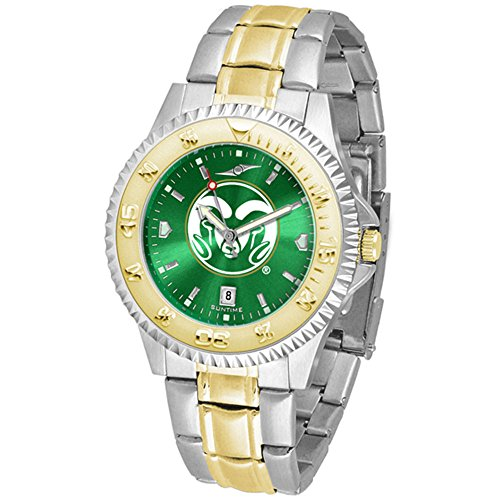 Colorado State Rams Competitor Two-Tone AnoChrome Men's Watch by SunTime
