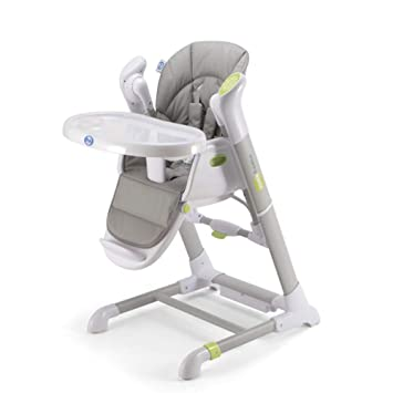 Outstanding Pali Pappy Rock High Chair And Swing In Pearl Gray Onthecornerstone Fun Painted Chair Ideas Images Onthecornerstoneorg