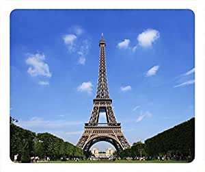 Nature Personalized Design Rectangular Mouse Pad Eiffel Tower