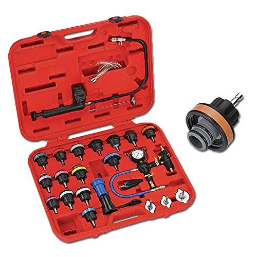 Hengda® Kühler Testgerät Kühlsystem Autokühler Kühlerdruck Tester Drucktester Vakuum Kühlsystemtester