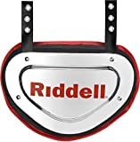 #3: Riddell Sports Back Plate Chrome Finish, One Size Fits Most