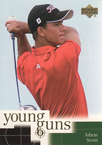 (2001 Upper Deck Golf #70 Adam Scott RC Young Guns )