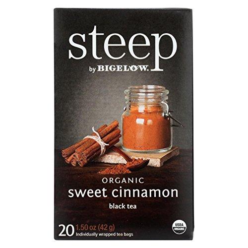 (Bigelow Tea Steep Sweet Cinnamon Organic, 1.6 oz)