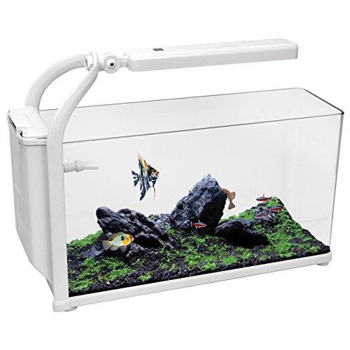 Aqua One 52041 REFLEX 15 Aquarium Kit, White by Aqua One