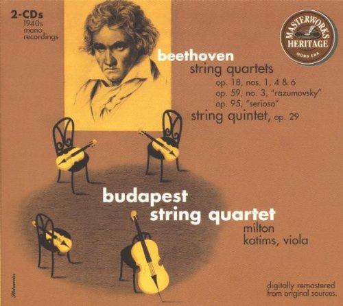 Beethoven: String Quartets Op. 18 Nos. 1, 4, & 6, Op. 59 Nos. 3