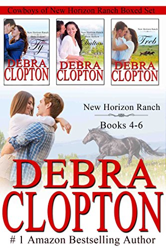 Cowboys of New Horizon Ranch Boxed Set 4-6: Contemporary Western Romance ()