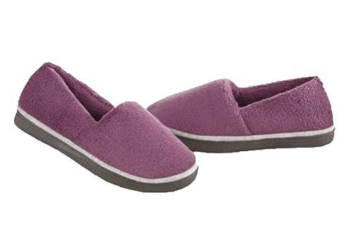 Isotoner Mujer microterry Alpargatas Zapatillas: Amazon.es: Zapatos y complementos