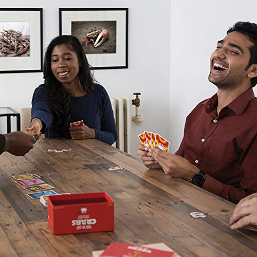 You've Got Crabs by Exploding Kittens – A Card Game Filled with Crustaceans and Secrets – Family-Friendly Party Games…