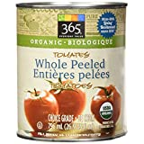 365 Everyday Value Organic Whole Peeled Tomatoes, 26.9 Fl Oz
