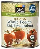 365 Everyday Value Organic Whole Peeled Tomatoes, 28 oz