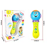 SUGOO Toy for 1 Year Old Girl Toy Microphone for 2-3 Year Old Baby Girls Kid Toy for 3-12 Months Toddler Boy Gift for 1-3 Year Old Girl Microphone Toy for Age 1 2 3 Girl Boy Birthday Gift for 6-18