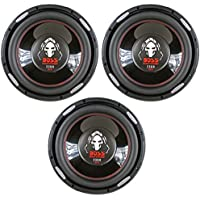 (3) Boss P126DVC 12 Car Subwoofers, 6,900 Watts Total, Dual 4 Ohm Subs