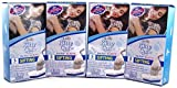 Alfapet Kitty Cat Sta-Put Elastic Sifting Litter Box Liners Jumbo Size 5 Count (4-Pack/Boxes)
