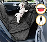 quilted dog carrier - Dog Car Seat Cover for Cars, Trucks and SUVs   Premium Quality Hammock, Waterproof, Scratch Proof, Non-Slip, Durable Material   Pets Seat Covers by GloBal Pet + Bonus Dogs Seat Belt and Travel Bowl
