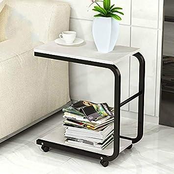 Muebles para el hogar Escritorio móvil con Ruedas Dormitorio ...