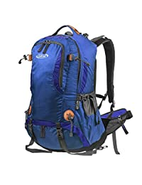G4Free 50L Outdoor Backpack Camping Climbing Hiking Backpack For Backpacker Unisex Bag with Rain Cover