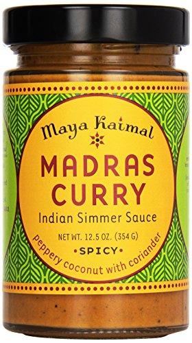 Maya Kaimal All Natural Indian Simmer Sauce - Madras Curry - 12.5 oz