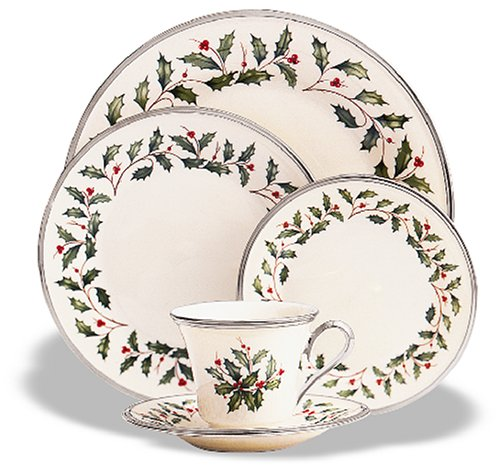 Lenox Holiday Platinum Ivory China Cup