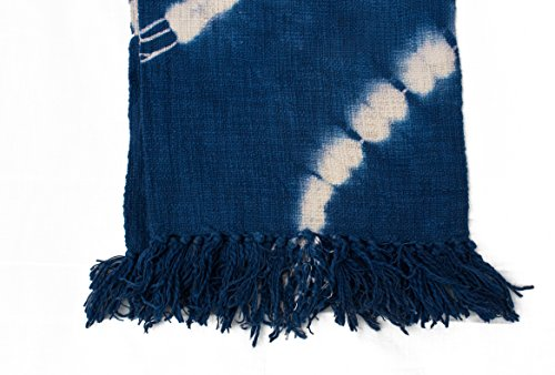 Fable9 Bed Throw using Certified Organic Colors | Thick Rect