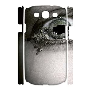 PICTUR Eye feature art Phone 3D Case For Samsung Galaxy S3 I9300 [Pattern-2]