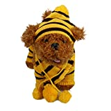 6Pc/Set Dog Pet Puppy Hat Scarf Leg Warmer Pet Clothes Neckerchief Autumn Winter Dog Cat Scarf Collar Pet Scarf Teddy Poodle Scarf Bichon Scarf Dog Bibs Dog Bandana Scarf (Yellow, M)