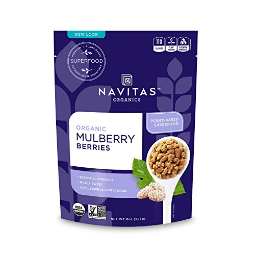 Navitas Organics Mulberries, 8 oz. Bag