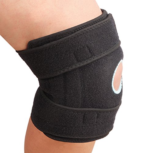 SZ-Climax Knee Brace Support, Non-slip Open-Patella Stabilizer with Adjustable Strapping & Breathable Neoprene for Arthritis,Joint Pain Relief, Injury Recovery,meniscus tear,Sports,Running by SZ-Climax