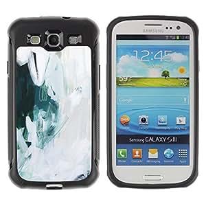 Suave TPU GEL Carcasa Funda Silicona Blando Estuche Caso de protección (para) Samsung Galaxy S3 III I9300 / CECELL Phone case / / Art Painting Snow Oil Ice /