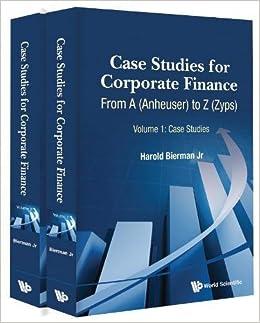 corporate finance case studies
