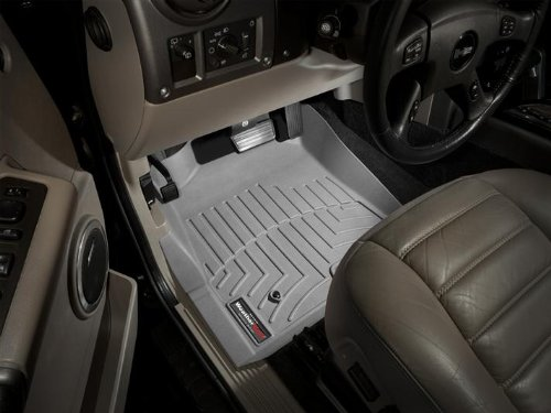 2003-2010 Hummer H2 Grey WeatherTech Floor Liner (Full Set)