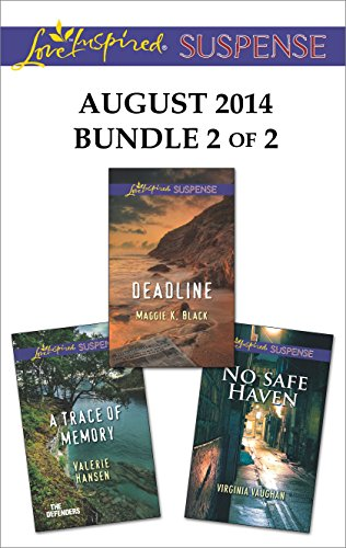 book cover of Love Inspired Suspense August 2014 - Bundle 2 of 2
