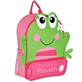 Best Sidekick Backpacks With Embroidered - Personalized Stephen Joseph Frog Sidekick Backpack with Embroidered Review