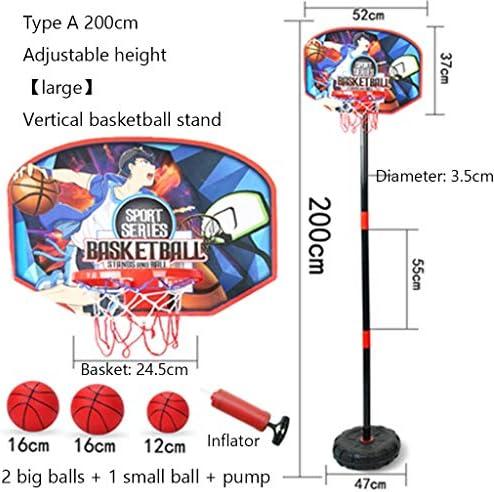 子供の屋外バスケットボールスタンドは屋内撮影フレームホーム2-3-5ベビー玩具8歳の男の子のバスケットボールのおもちゃを昇降可能