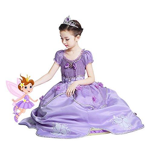 Amazon.com SMITH SURSEE Princess Sofia Dress Up Costume Cosplay Dress for Girls Toys u0026 Games  sc 1 st  Amazon.com & Amazon.com: SMITH SURSEE Princess Sofia Dress Up Costume Cosplay ...