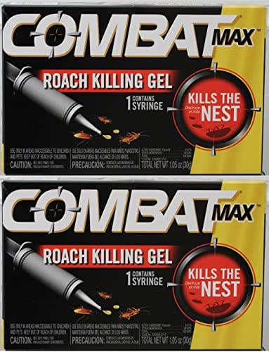 Combat Roach Killer Gel - 30 Gm (Pack of 2)