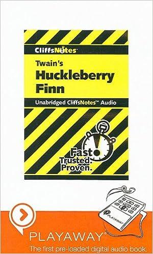 twains huckleberry finn cliffsnotes audio