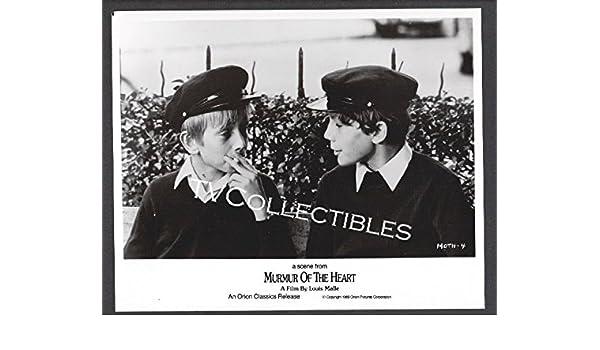 Amazon.com: 8x10 Photo~ MURMUR OF THE HEART ~1971 ~Eric Walter ~Benoit Ferreux ~smoking ~CS: Posters & Prints