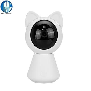 OBO HANDS Mini 960p HD IP Wifi Cámara CCTV Seguridad Wireless 360 Cámara Casera Visión Nocturna Juguete Robot Baby Monitor: Amazon.es: Electrónica