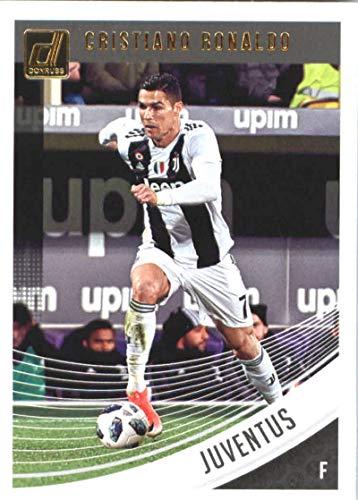 2018-19 Panini Donruss Soccer #9 Cristiano Ronaldo Juventus Official Panini 2018-2019 Futbol Trading Card