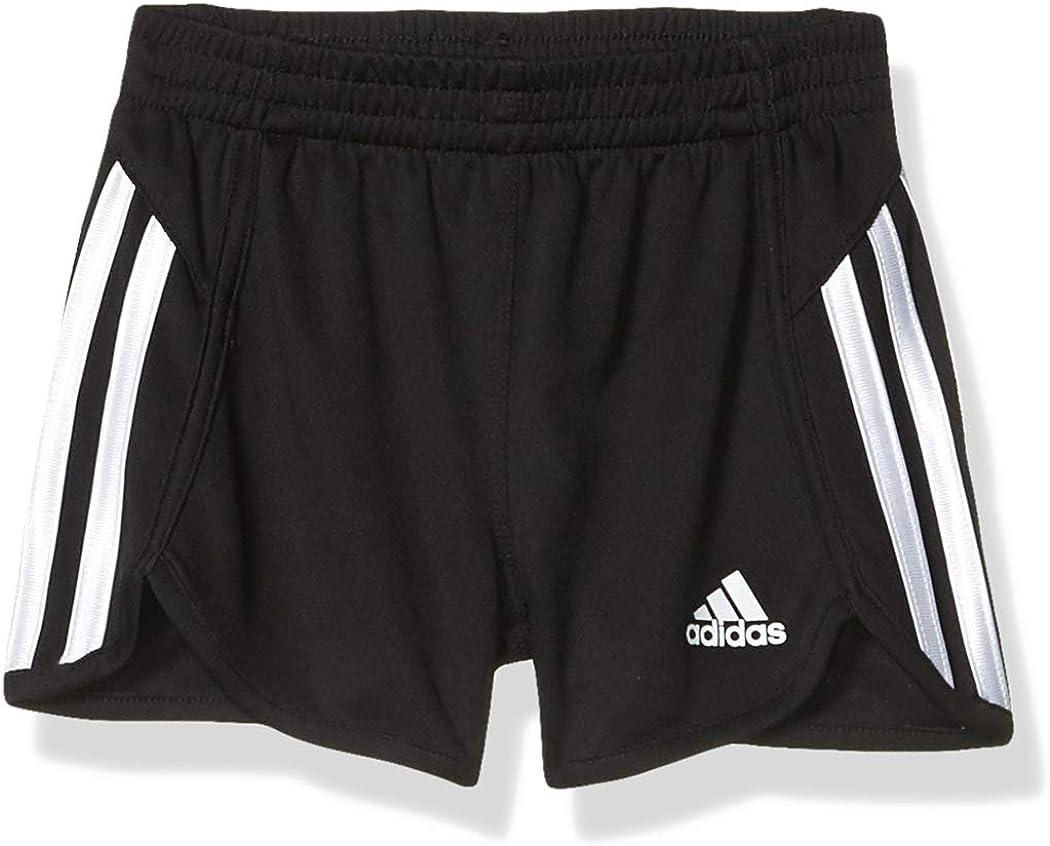 adidas Girls Stripe Mesh Short