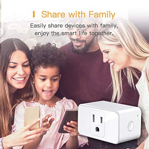 Apple HomePackage Smart Plug WiFi - Smart Outlet Compatible with Alexa, Google Home, Siri, Refoss Smart Socket with Timer Function, Remote Control, 16A, 2 Pack