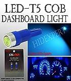 5 pairs JDM T5 COB Blue WEDGE 5050 1 CAR DASHBOARD DASH LIGHT BULBS LAMPS