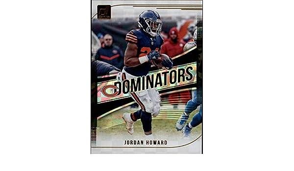 77ca069448b Amazon.com: 2018 Donruss Dominators #18 Jordan Howard Bears Football Card  NM-MT: Collectibles & Fine Art