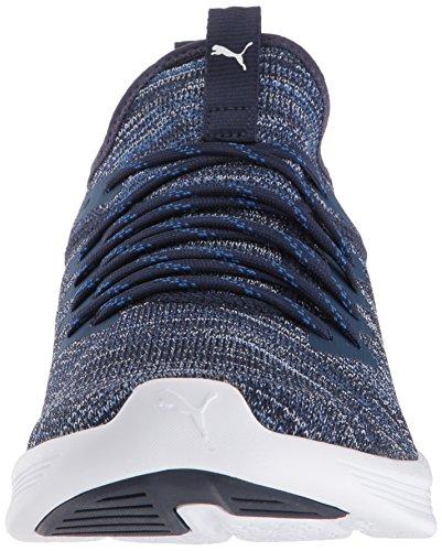 Sea White Peacoat Ignite M Flash Men's 5 PUMA 10 Sneaker Evoknit US Turkish gBq05w8